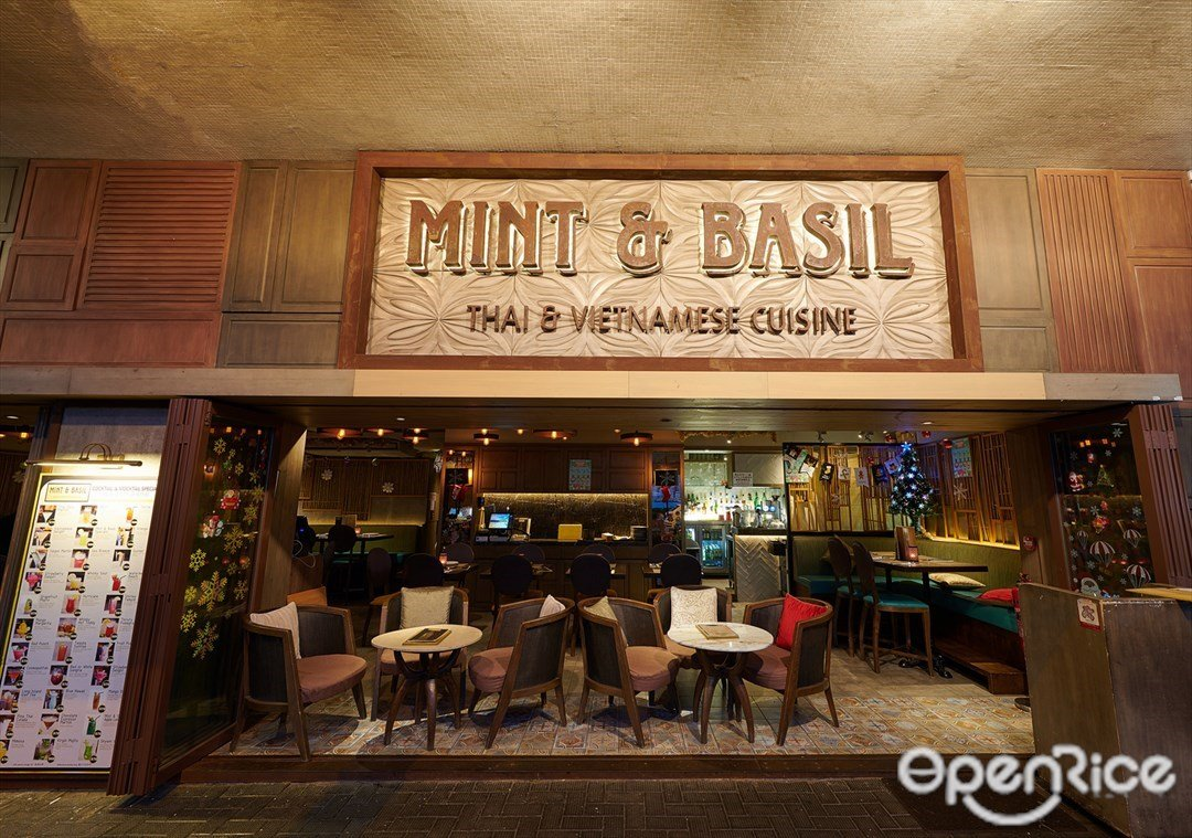 Mint & Basil Hong Kong