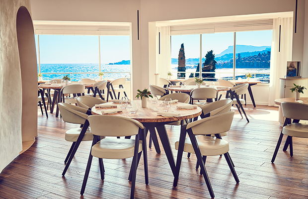 Mirazur restaurant in Menton, France