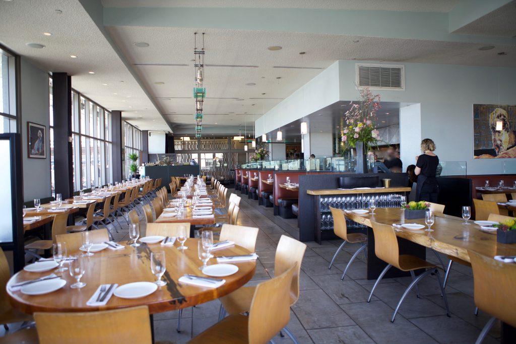 Slanted Door restaurant