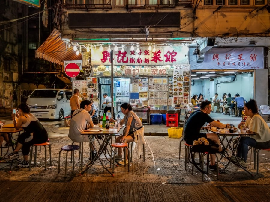 Go for Dai Pai Dong best food experience in hong kong