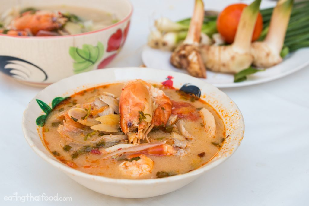 Tom Yum dish is one of best and famous thai food dish