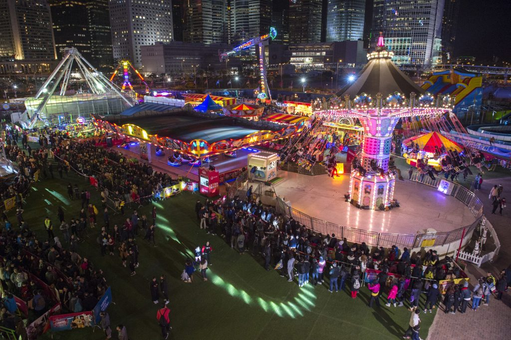 New Year Countdown at The AIA Great European Carnival