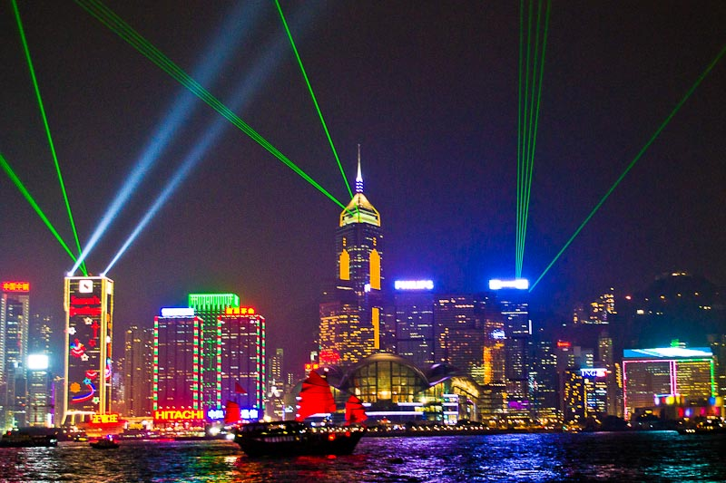 Where to celebrate New Years' Eve Hong Kong