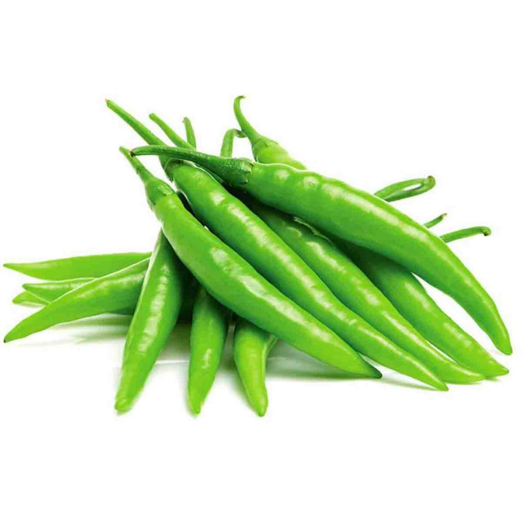 Advantages of Green Chilli