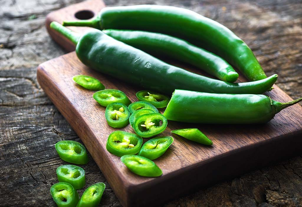 green chilli Good for your gut