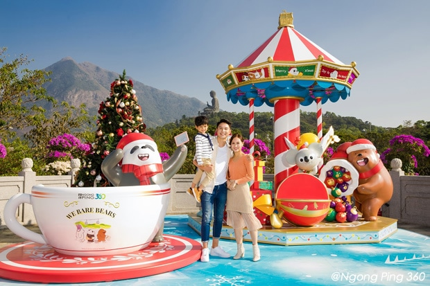 Ngong Ping 360 A Bear Promise Christmas