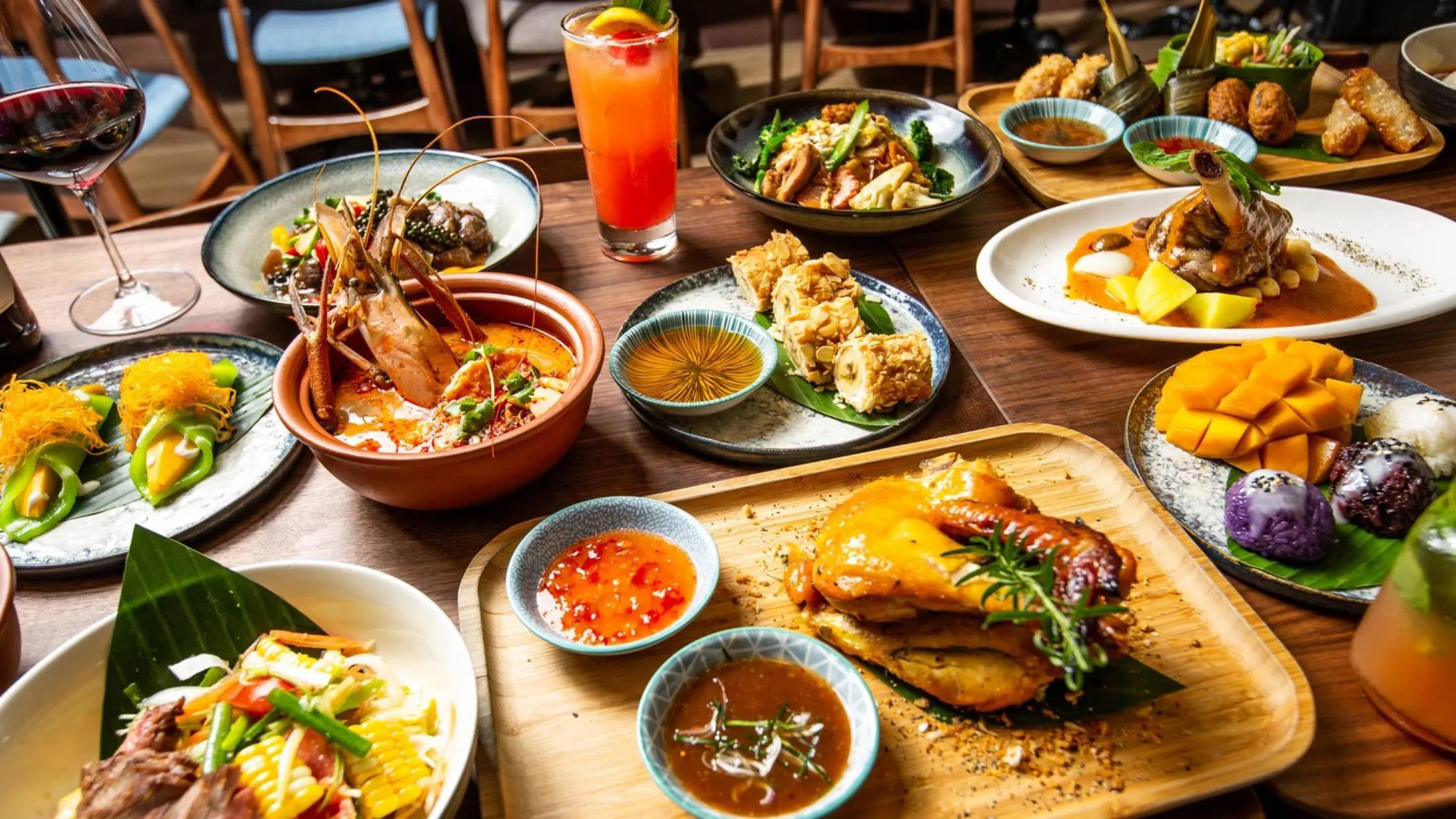 Signature Dishes of Mint Basil hong kong