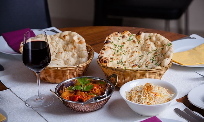 The matching of Indian cuisine with Wine