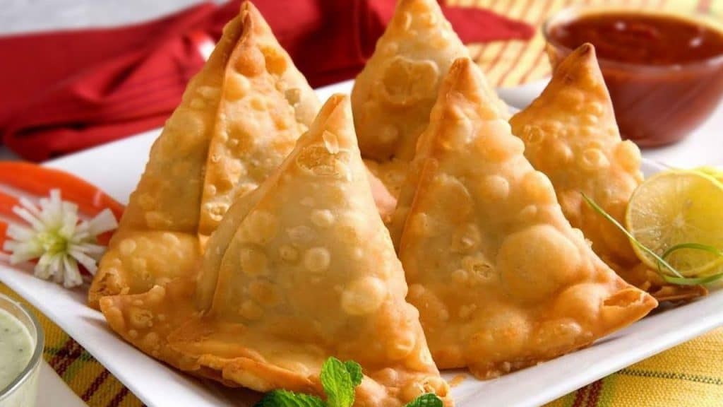 Vegetarian Samosa in hong kong
