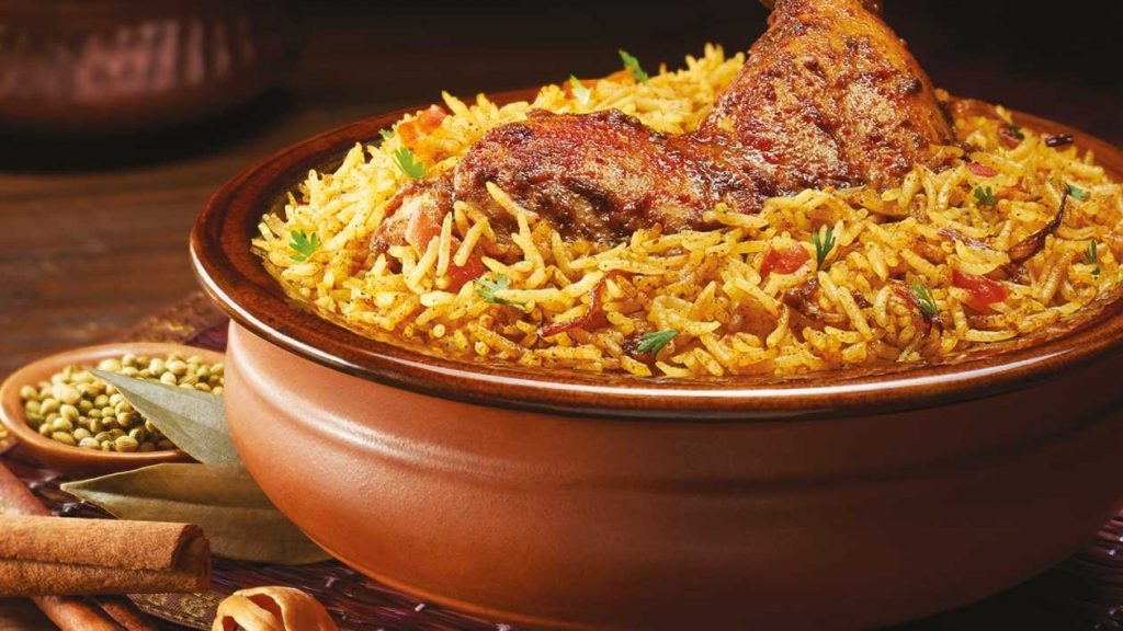 indian non veg Chicken Biryani