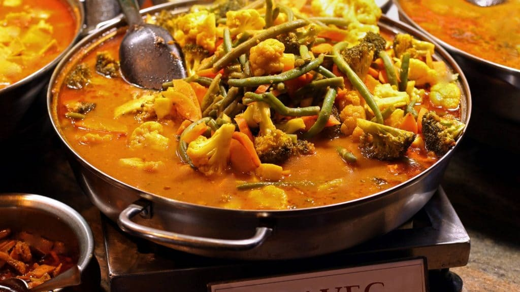 Mix Vegetable Curry in hong kong