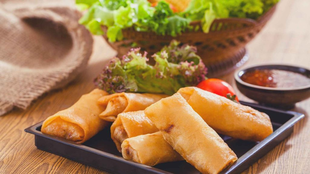 Are spring rolls healthy for you