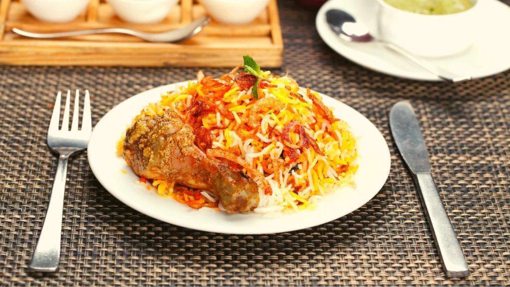 Chicken Biryani in hong kong