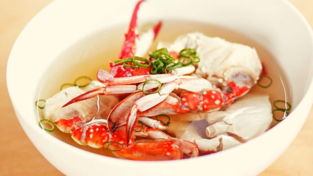 Grapor Pla Nhue Poo 蟹肉魚肚羹