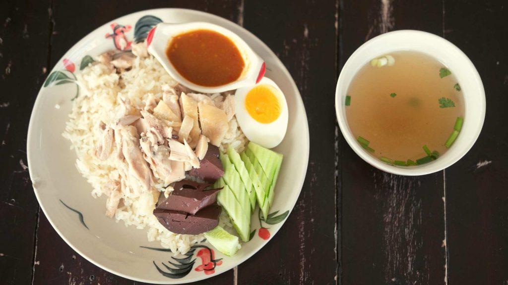 Khao Man Gai in hong kong