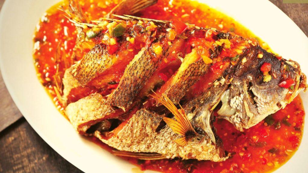 Pla Rard Prik 泰式酸辣魚