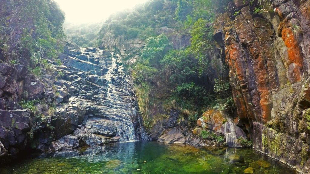 A walk at Yellow Dragon Gorge