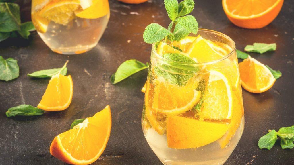 Orange Blush drink