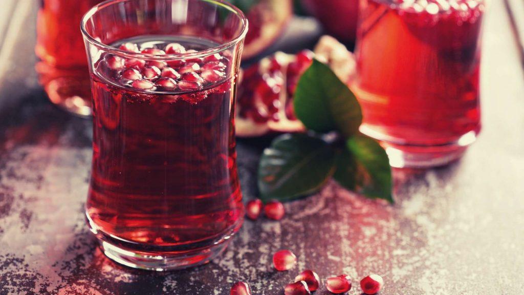 Thirsty Pomegranate drinks