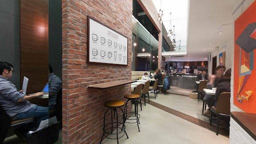 Opendoor Cafe Courtyard restaurant in hong kong