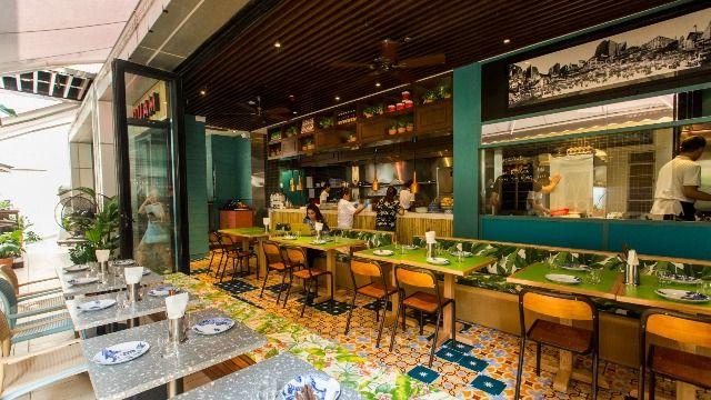 Ruam restaurant in hong kong
