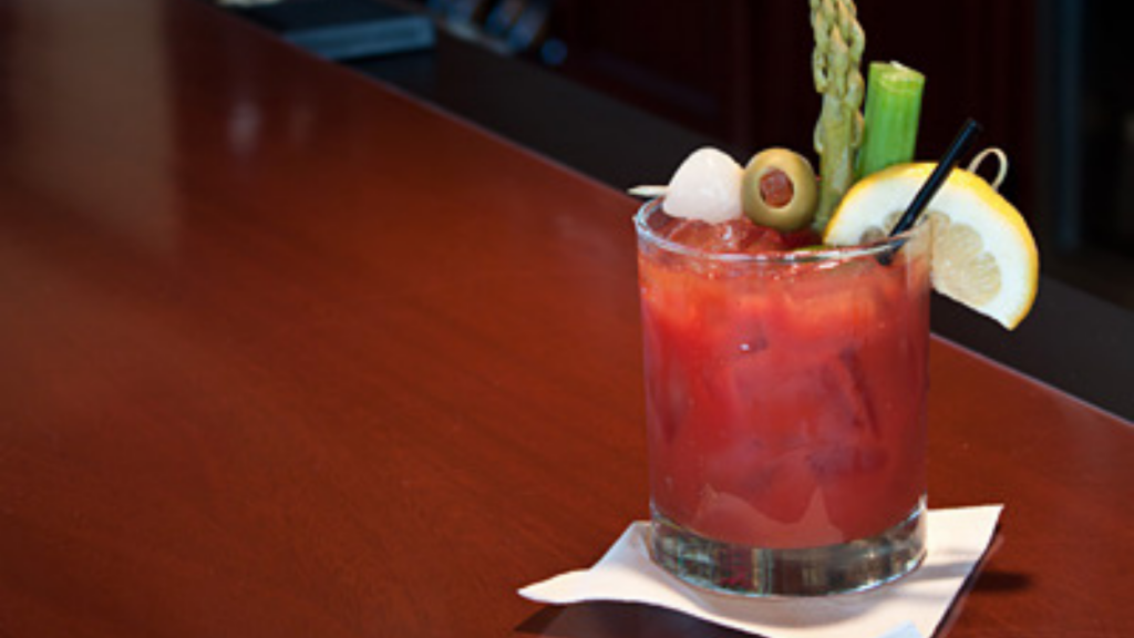 The Bloody Mary cocktails