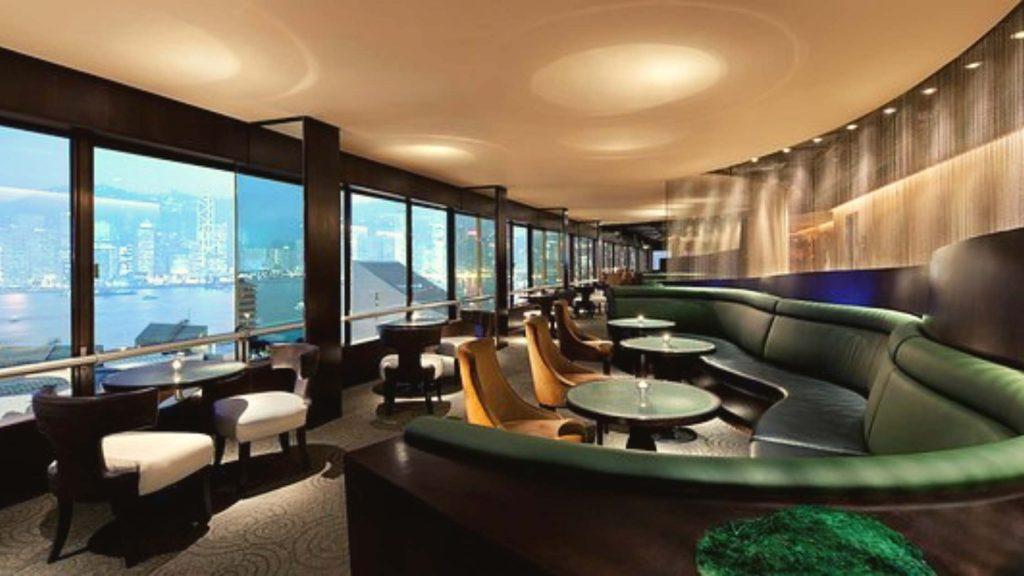 The Sky Lounge in hong kong